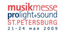 musikmesse prolight+sound st. petersburg 2009
